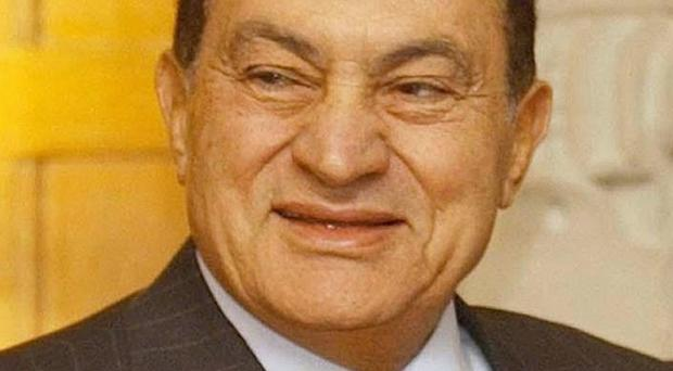 Former Egyptian president Hosni Mubarak has denied he abused his authority while in power
