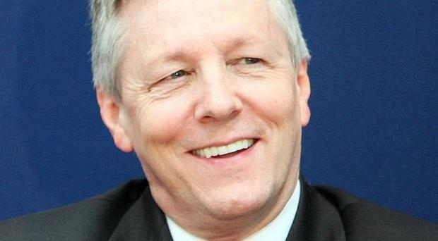 First Minister Peter Robinson says Northern Ireland is entering an era of 'peacetime politics'