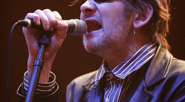 Former Pogues singer Shane MacGowan is in the running to land a Classic Brit Award