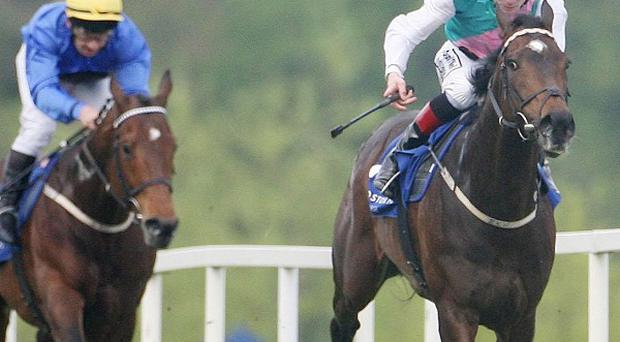 Famous Name strikes in the Heritage Stakes