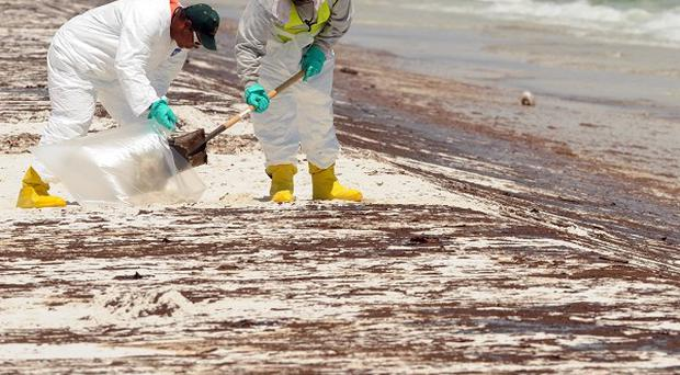 Some states hit by an oil spill have spent large amounts of compensation money on items with no relevance to the clean-up (AP)