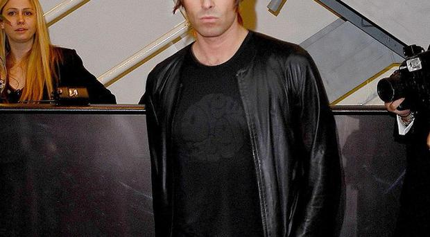 Liam Gallagher says he was nervous before playing live with his new band Beady Eye