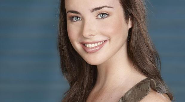 Kate Ramsay, played by Ashleigh Brewer, stars in special royal wedding scenes in Neighbours