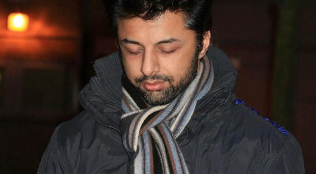 Shrien Dewani surrendered himself to police after getting into a 'heated discussion' with another patient at the Priory Hospital