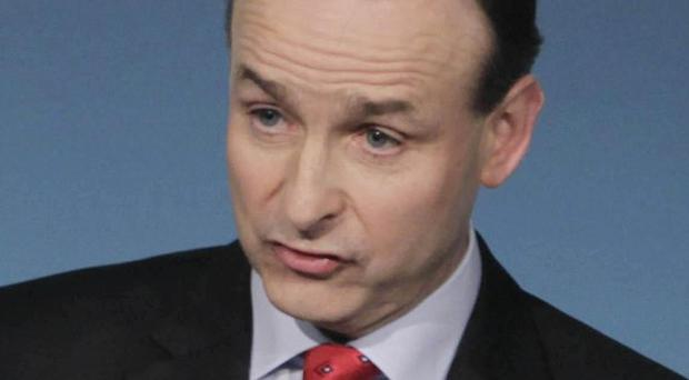 Fianna Fail leader Micheal Martin proposed a referendum be held over banning big business funding political parties