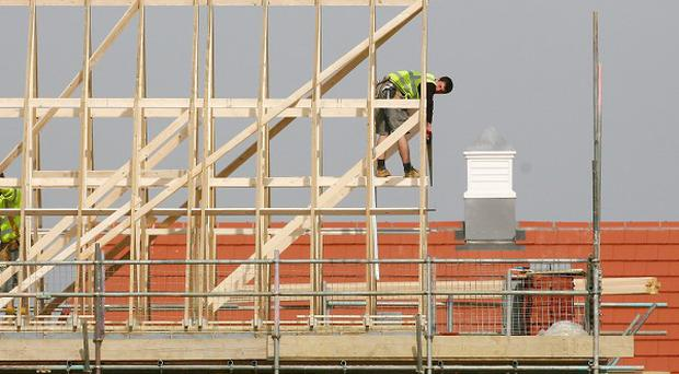 New infrastructure projects can help drive regeneration, a construction industry body has said
