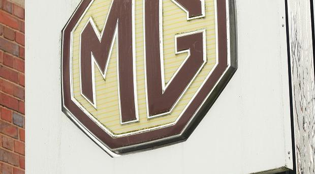 A new MG car is set to roll off the production line at Longbridge