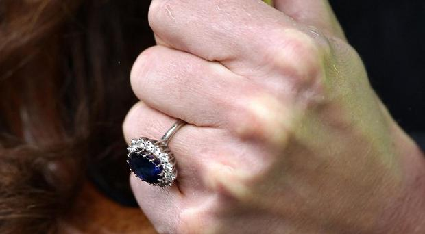 Kate Middleton is having her engagement ring made smaller, it has been claimed