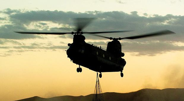 Defence chiefs cast doubt over the safety of Chinook helicopters two years beforea fatal crash off the coast of Scotland