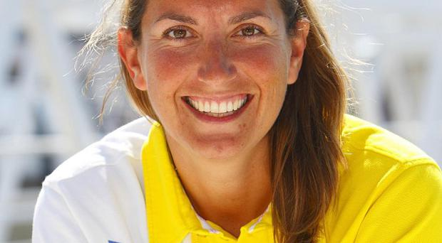 Dee Caffari has become the only woman to have sailed around the world non-stop three times