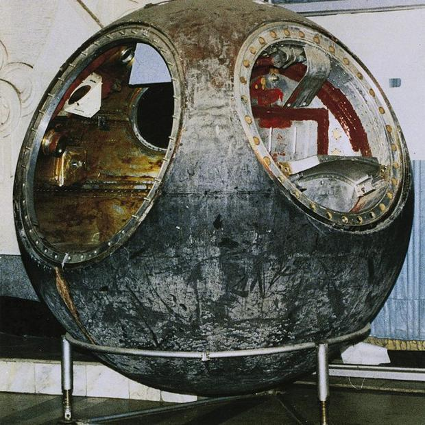 The Vostok 3KA-2 space capsule was sold for 1.8 million pounds
