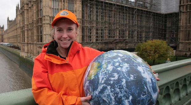 Roz Savage has set off from Australia in a bid to row across the Indian Ocean