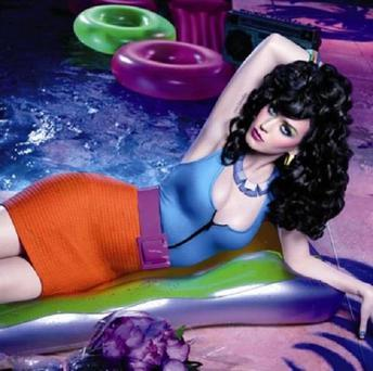 Katy Perry has said she is excited about her new modelling role