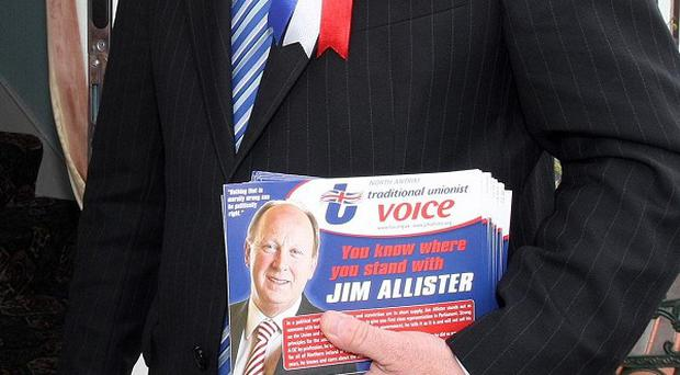 A TUV candidate said he would consider meeting the Northern ireland Gay Rights Association to talk about funding