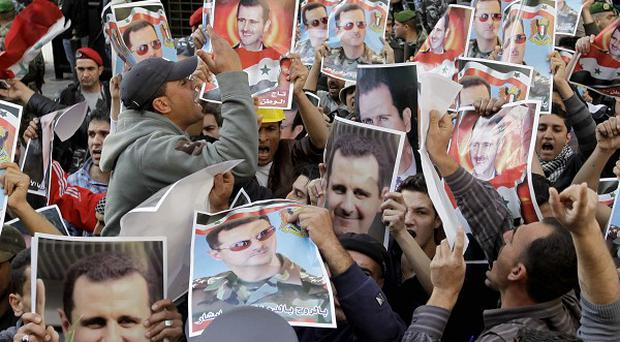 Syrian president Bashar Assad's regime blames the violence during recent protests on 'armed gangs' paid by foreign countries