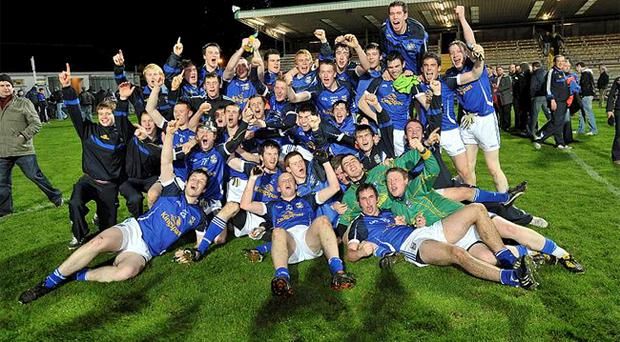 Cavan's heroes enjoy their Ulster under-21 triumph over Tyrone last night