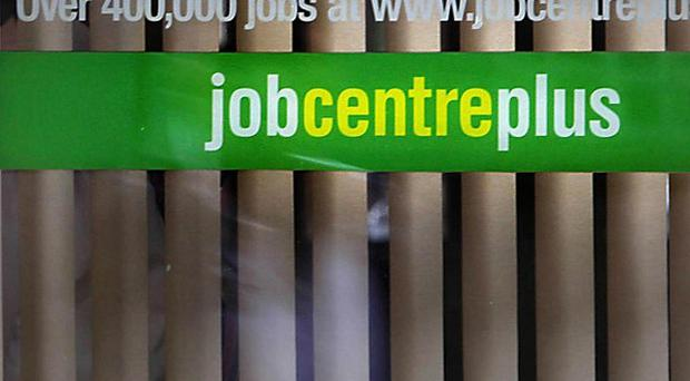 The Government said that unemployment was moving in the right direction despite a youth jobless total of almost a million