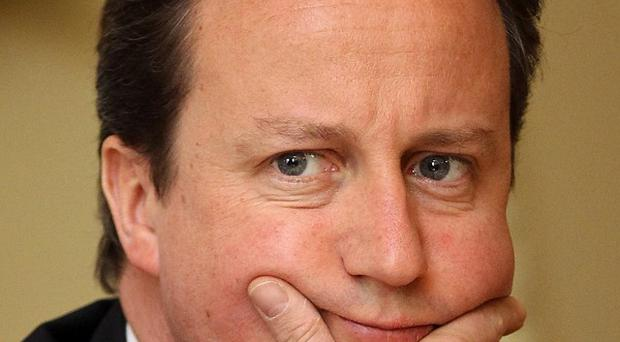 David Cameron has promised to leave 'no stone unturned' to halt the killing of civilians in Libya