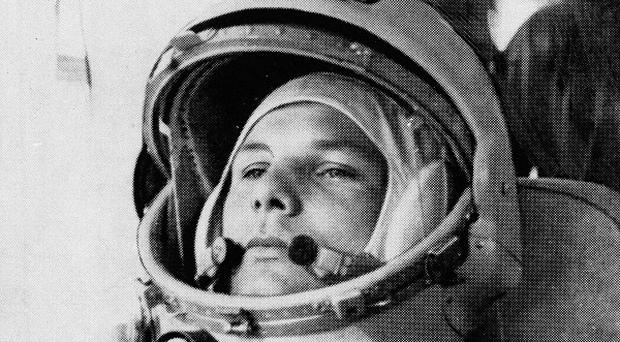 Russian cosmonaut Yuri Gagarin became the first human in space on April 12, 1961 (AP)