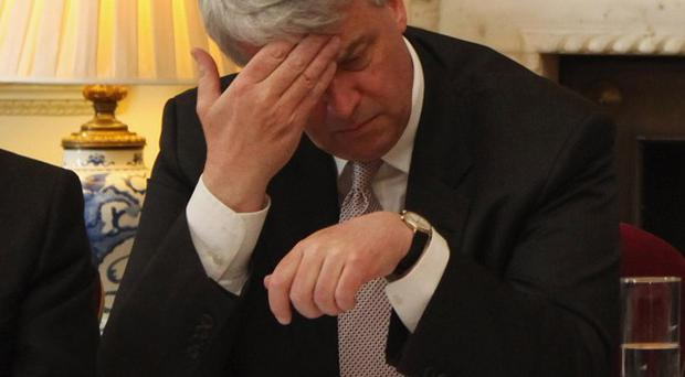 Andrew Lansley has said he is 'sorry' for failing to communicate his plans for the NHS to health workers