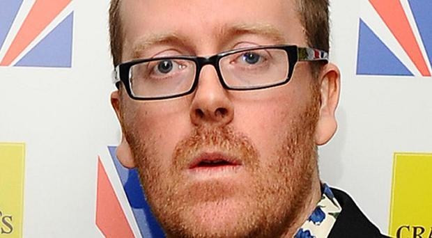 Frankie Boyle has been named the nation's most offensive stand-up in a poll