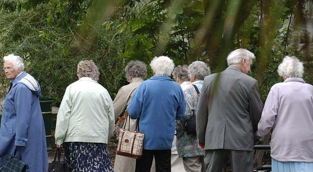Fifty-eight per cent of people over 60 are just getting by, according to a new survey