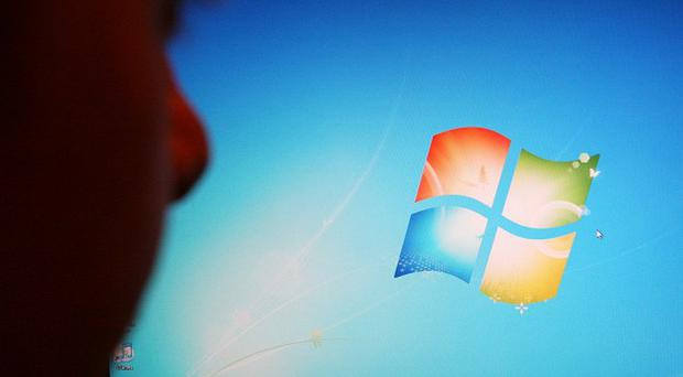 The Coreflood malware exploits a vulnerability in computers running Windows operating systems
