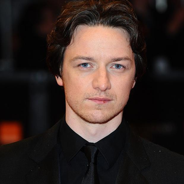 James McAvoy has earned high praise from director Robert Redford