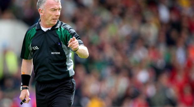 Top referees such as Pat McEnaney can help to clamp down on the abusive verbals which are currently a cancer within gaelic football