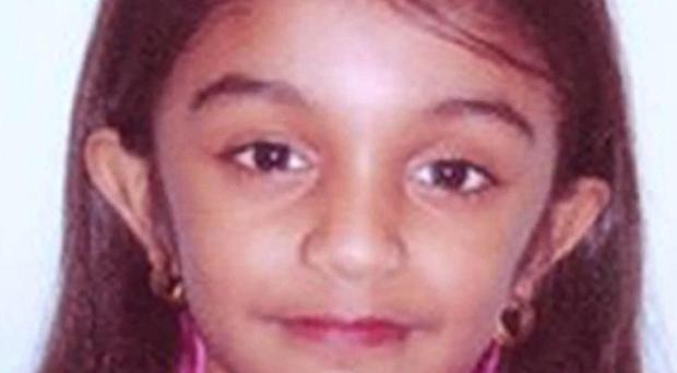 Thusha Kamaleswaran, five, was shot inside the Stockwell Food and Wine store in south London