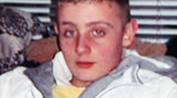 Ryan Quinn, 14, died after he was hit by a train while his hand was stuck in a cattle grid in Portrush, Co Antrim