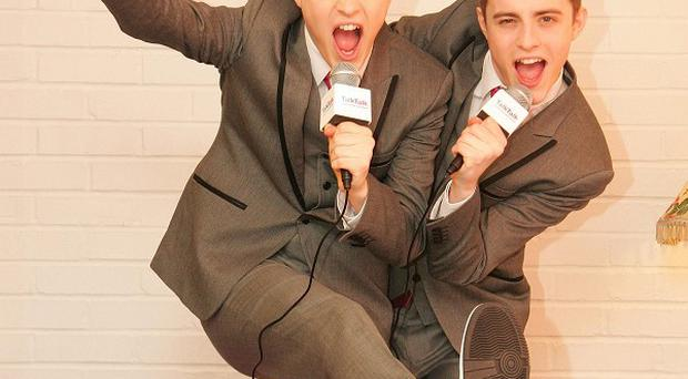 John and Edward Grimes have been in demand since The X Factor