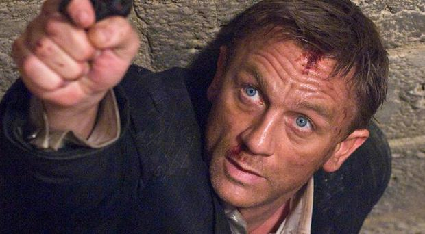 Daniel Craig stars as James Bond in a scene from Quantum of Solace (AP)
