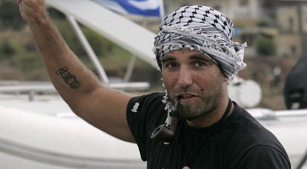 The body of an Italian pro-Palestinian activist Vittorio Arrigoni abducted by Islamic extremists has been found hanged in a Gaza City house (AP)