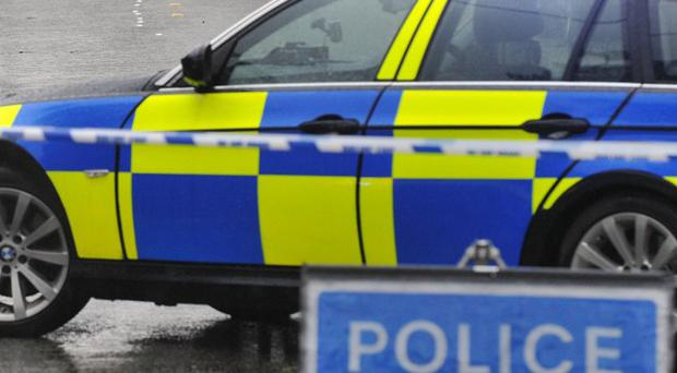 A cyclist has died after he was in collision with a lorry in south Belfast