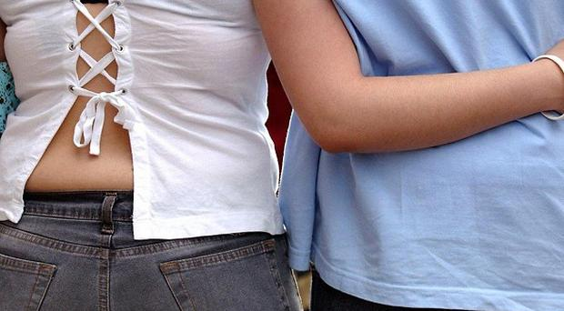 One in nine teenagers have been the target of sexual grooming, a survey says