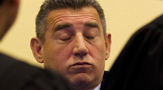 Former Croatian Army General Ante Gotovina was convicted of war crimes at the Hague