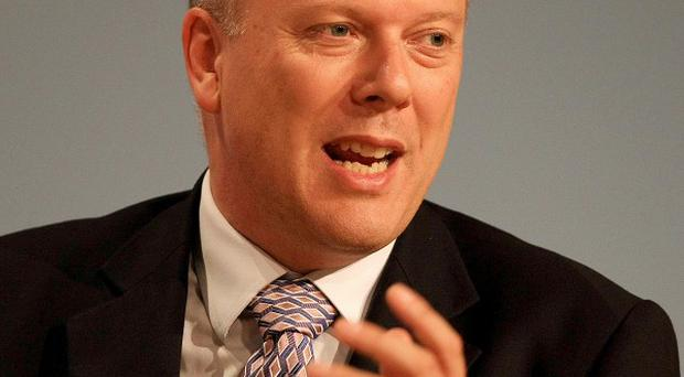 Chris Grayling was unable to get to the live recording if Radio 4's Any Questions because of a body on a railway line