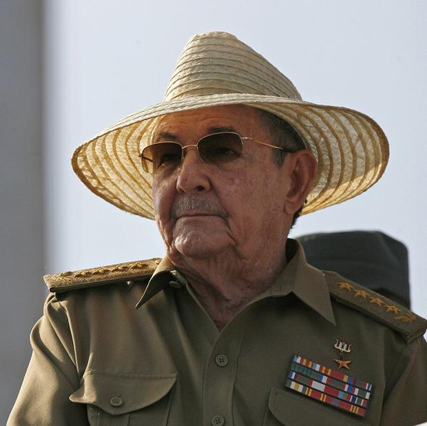 Raul Castro proposed term limits for Cuban politicians (AP)