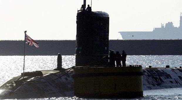 Secret information about the UK's nuclear-powered submarines was inadvertently published on a website