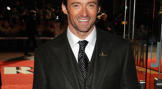 Hugh Jackman plays a boxer in the new film Real Steel