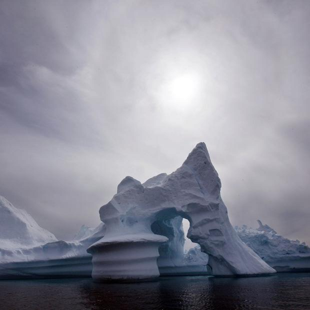 Arctic coastlines are retreating at the rate of two metres or more a year, it has been claimed