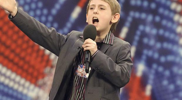 Young comedian David Knight impressed the BGT judges