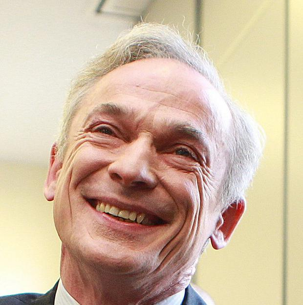 Richard Bruton is on a trade mission to India to drum up export contracts