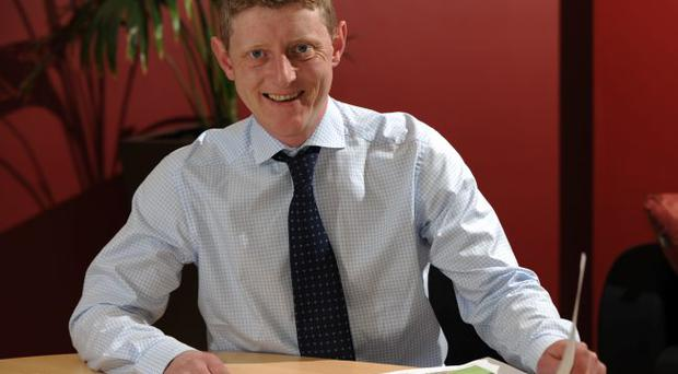 Steven Thompson, Managing director of The Landscape Centre, Ballyclare
