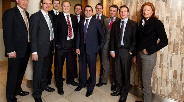 BTWShiells staff who picked up the EGI Deals Competition 2010 award for Northern Ireland