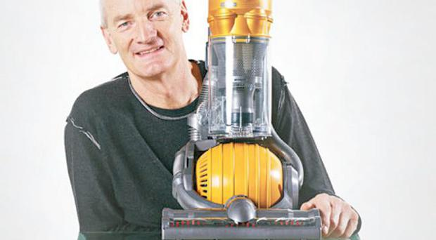 Sir James Dyson and his revolutionary product
