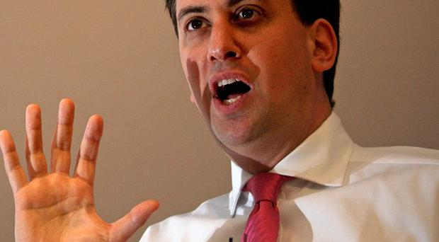 Ed Miliband claims the Government's tuition fees policy could lead to a funding shortfall