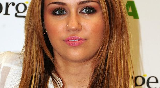 Miley Cyrus has been showing off her new tattoo