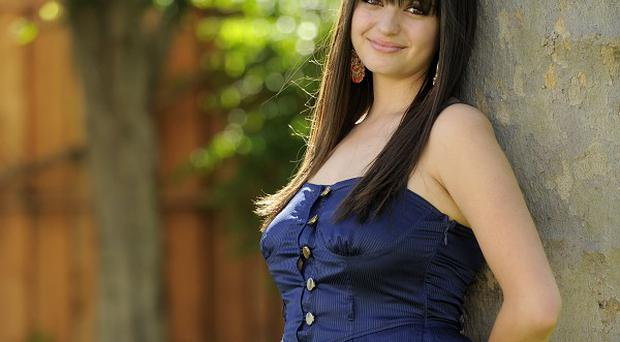 Rebecca Black has found fame by singing on the web